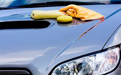 Защитная обработка лакокрасочного покрытия автомобиля