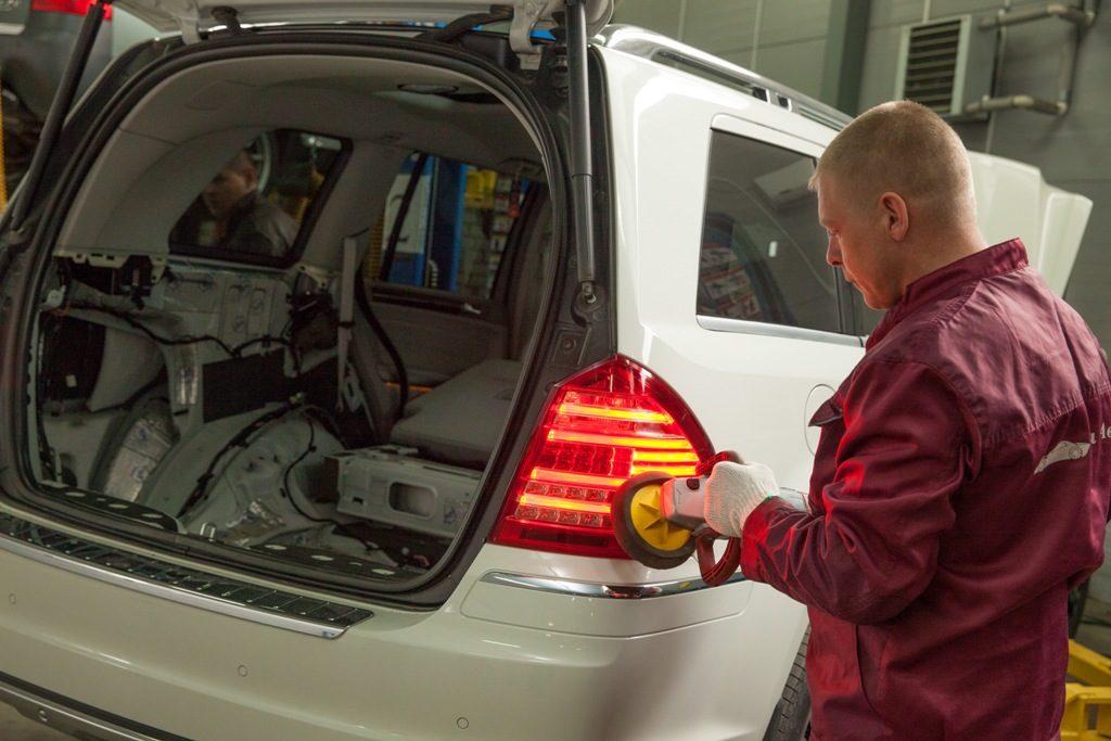 Предпродажная подготовка автомобиля